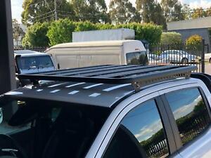 Aluminium Flat Roof Rack Backbone to Suit Toyota Hilux 2015 - 2021