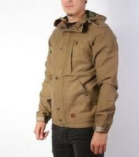 BNWT Billabong Men's Camel Brown Pole Jam Jacket  L