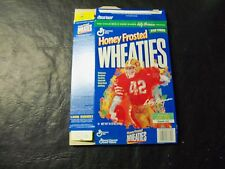 Ronnie Lott  HF  wheaties box   14.75 oz   Legends of Nfl  Leroy Neiman painting