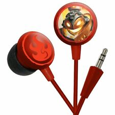 Skylander Swap Force Fire Elements Edition Earbuds and Mic for Mobilephone/MP3/i
