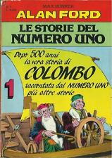 ALAN FORD - LE STORIE DEL NUMERO UNO n° 1 (MBP, 1992) COLOMBO