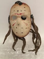 "2.5"" Mask with Hair for NECA Jason voorhees 18"" Action Figure Replica Accessory"