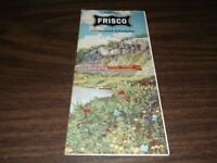 JUNE 1961 SLSF FRISCO CONDENSED SYSTEM PUBLIC TIMETABLE