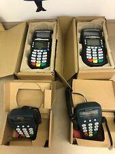 Set of 2 Equinox Optimum 4210 Credit Card Terminals with P1300 Pin Pads