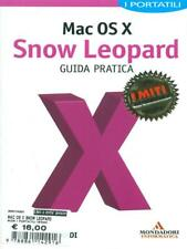 MAC OS X SNOW LEOPARD  MATTEO DISCARDI MONDADORI 2011 I PORTATILI