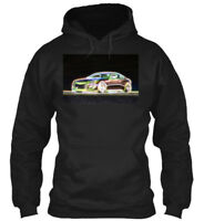 Neon Glow Genesis Coupe Gildan Hoodie Sweatshirt
