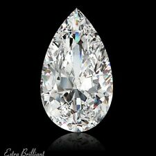 2.32 Carat G/I1/VG-Cut Pear Shape AGI Certify Genuine Diamond 12.25x7.49x4.05mm