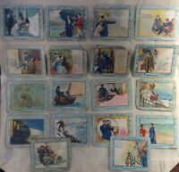 Turkish Trophies Fortune Series Lot of 18 Cigarette Cards Antique 1910s 1900s