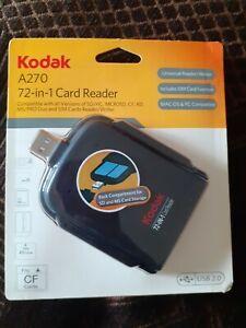Kodak A270 72-in-1 Memory Card Reader USB 2.0 New in box