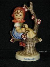 "Goebel Hummel Arbeitsmuster 141 4/0 ""Frühling"", apple tree girl, Mädchen in Baum"