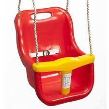 Swing Slide Climb BABY SWING SEAT 365x420x250mm,25Kg Load,RED/YELLOW *AUST Brand