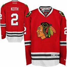 #2 Duncan Keith Chicago BLACKHAWKS RBK NHL Premier Jersey 100% Original