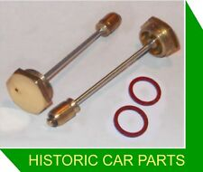 2 BRASS HEX DAMPERS & SEALS for HS4 SU Carbs for Austin Westminster A110 1961-66