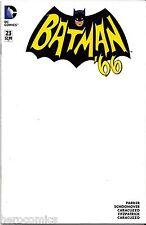 Blank BATMAN '66 #23 Convention Sketch Variant Ltd Adam West LAST ONE FREE SHIP