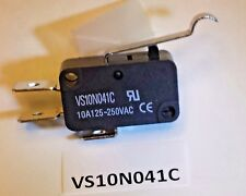 VS10N041C Highly simulated roller lever snap action 10 Amp safety limit switch