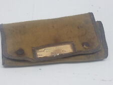 World War II WWII Soldiers Owner ID Sewing Kit With Name Miller