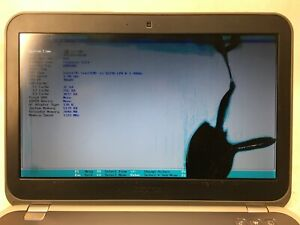 DELL Inspiron 5323 Laptop For Parts Boots to BIOS Broken LCD Screen NO HDD  JR