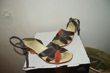 CHAUSSURE SANDALE CAMPER CUIR TAILLE 38 LEATHER SHOES/ZAPATOS/SCARPA BE