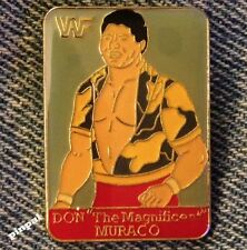 Wrestling Pin~Don The Magnificent Muraco~80's Vintage~Official WWF