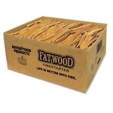Betterwood Products 9951 Natural Pine Hand Split Fatwood 50 Pound Firestarter