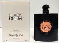 BLACK OPIUM by YSL Yves Saint Laurent 3.0 oz Eau De Parfum Spray in a Demo BOX