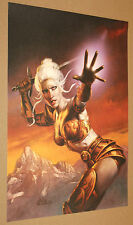 Champions of Norrath Limited Edition Artwork Poster very Rare