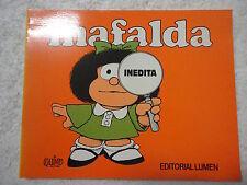 Mafalda Inedita,Quino,Ed.Lumen 1993
