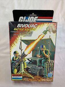 Hasbro G.I.JOE ARAH 1984 Bivouac Battle Station MIB Complete Contents Triple Win