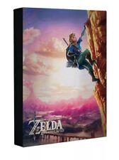 Legend Of Zelda Luminart Breath Of The Wild Canvas Wall Light Up Art Nintendo