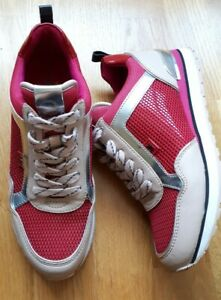 Michael kors trainers UK 4/4.5 US 7 Excellent condition EU 37/37.5 red Beige...