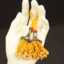 PAIR Tribal Jewelry Clothing TASSELS Belly Dance Kuchi Bellydance 729f7