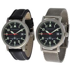 ARISTO Armbanduhren mit Datumsanzeige und mattem Finish
