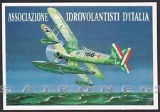 AVIAZIONE 31 AERONAUTICA AEREO - IDROVOLANTE - Dis. ALDO BROVARONE Cartolina