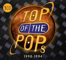 Various – Top Of The Pops 1990 -1994 [New & Sealed] Digipack 3CD