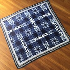 Dallas Cowboys Football Baby Blanket Fleece Crochet Handmade Baby shower Gift