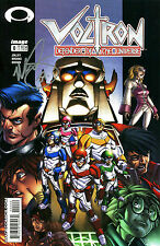 VOLTRON DEFENDER OF THE UNIVERSE #0 SIGNED BY ARTIST MARK BROOKS (LG)