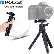 PULUZ Pocket Mini Metal Desktop Tripod Mount with 360 Degree Ball Head
