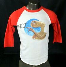 Vtg 80s E.T. ET Extra Terrestrial 3/4 Raglan Sleeve Jersey T-shirt Unisex sz M