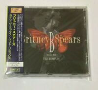 Britney Spears SEALED BRAND NEW CD B In The Mix - The Remixes Import Japan OBI