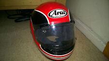 Vintage Arai Motorcycle Helmet  For Display Only believed Randy Mamola colours