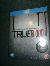 True Blood Seasons 1-4 Box Set Blu Ray Movie Complete Collection HBO series New