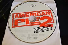 American Pie 2 (DVD, 2002, Unrated Full Frame)Disc Only Free Shipping