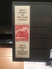 Deutsches Reich Zusammendrucke Mi S 265 MNH  postfrisch Luxus