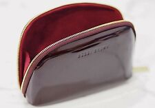 Bobbi Brown Burgundy Patent Makeup Bag from Bobbi's Party Picks Collection