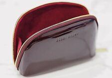 Bobbi Brown Burgundy Patent Makeup Bag from Bobbi's Party Picks Collection