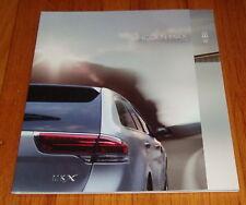 Original 2013 Lincoln MKX Sales Brochure