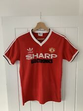 *Vintage**Original* Manchester United 1982/83 Small Home Football Shirt *6*