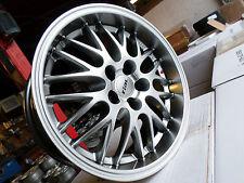 4x RIAL NORANO IN STERLINGSILBER IN 8,5Jx18 ET32  5x120mm für BMW 3er, X1,X3