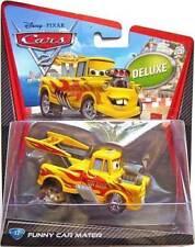 CARS 2 - FUNNY CAR MATER - Mattel Disney Pixar