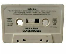 Glass Houses by Billy Joel (Cassette, 1980, CBS) - **Cassette Tape Only**